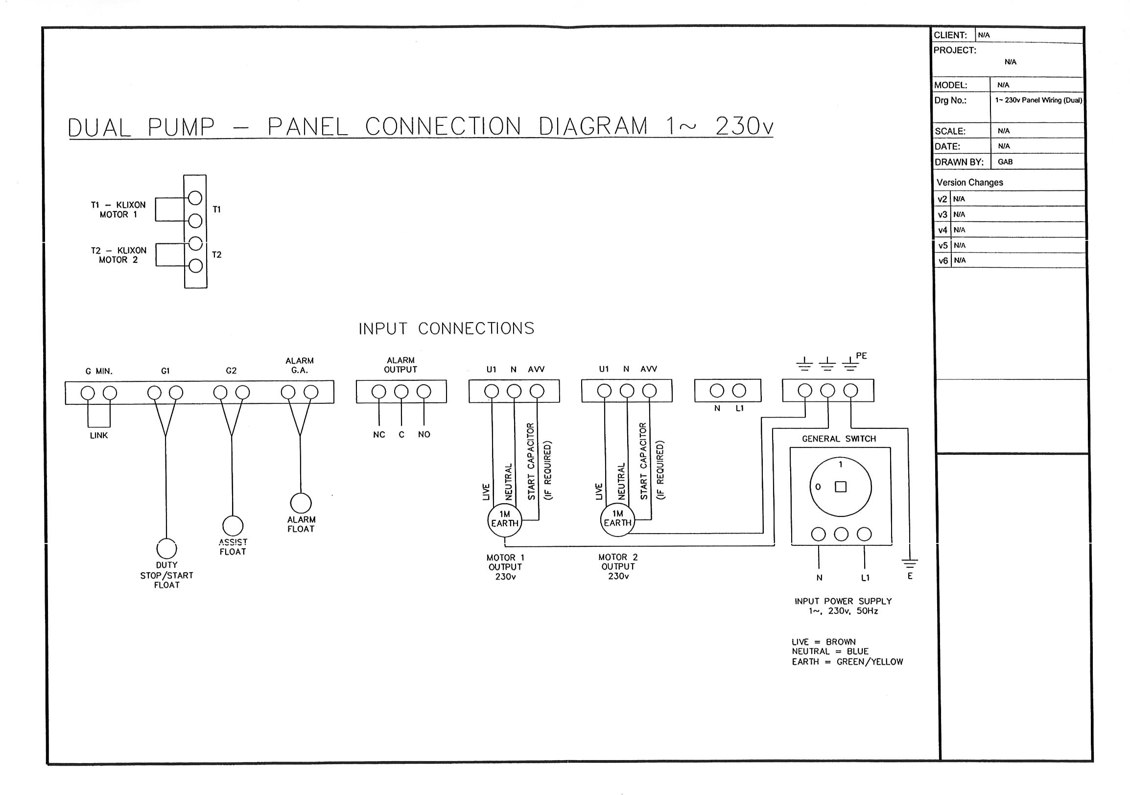 AES Duplex Dual Pump Control Panel duplex dual pump control panel automated environmental systems control panel wiring diagrams at virtualis.co