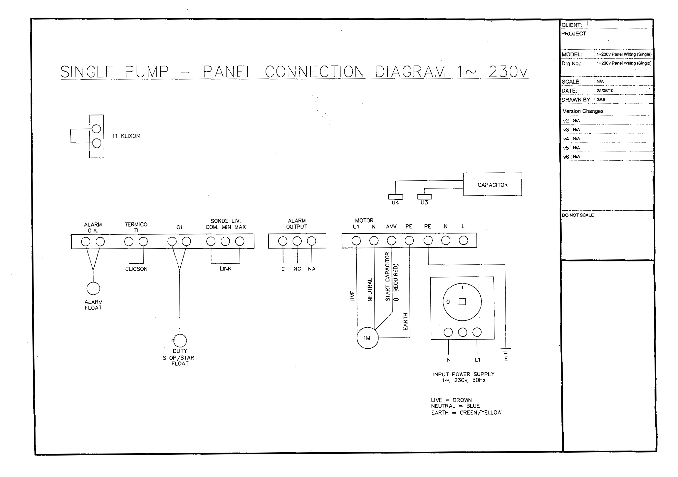 Simplex Pump Control Wiring Diagram Electrical Diagrams Class A Fire Alarm Single Panel Abs Box Automated B
